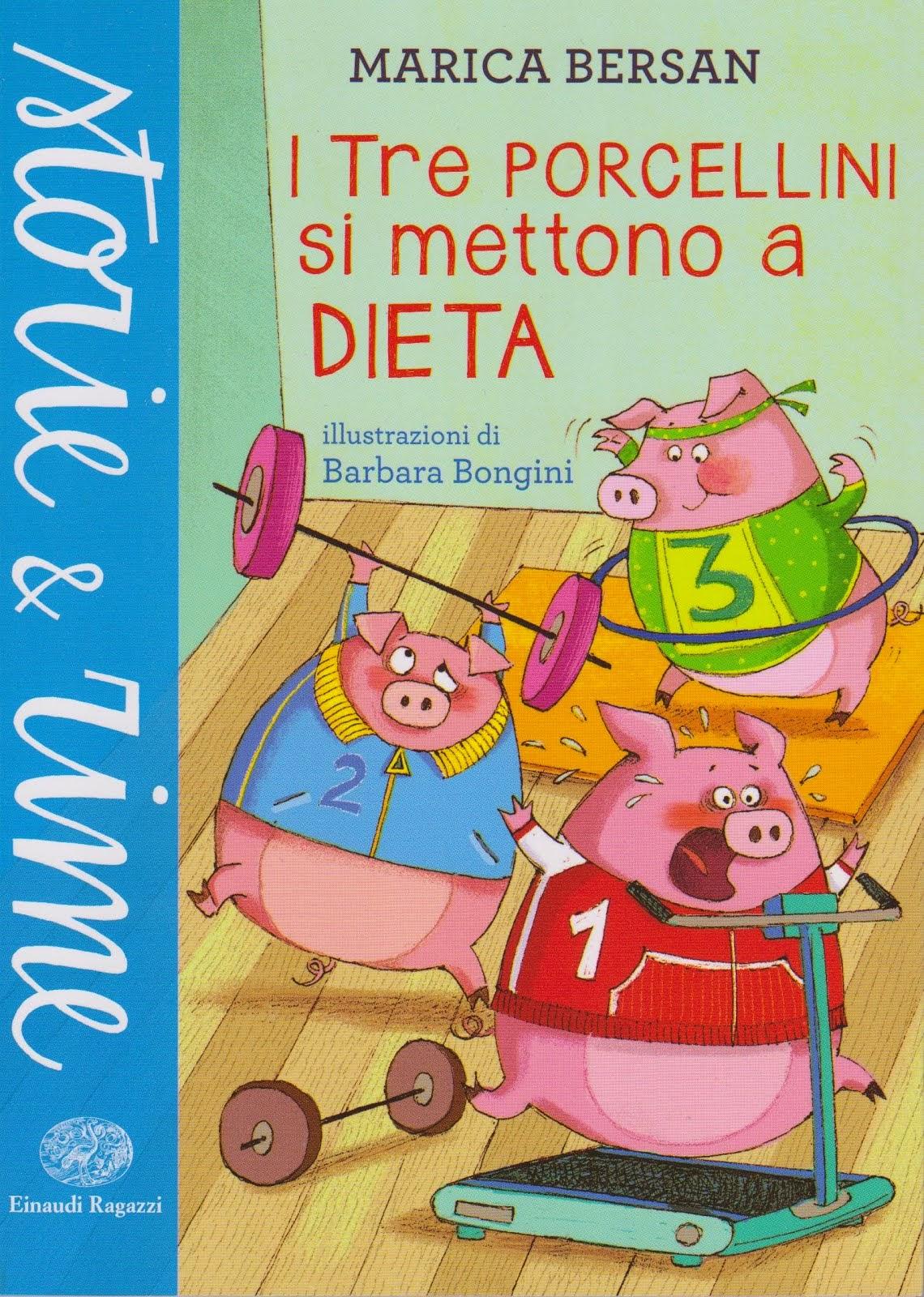 I Tre Porcellini si mettono a dieta