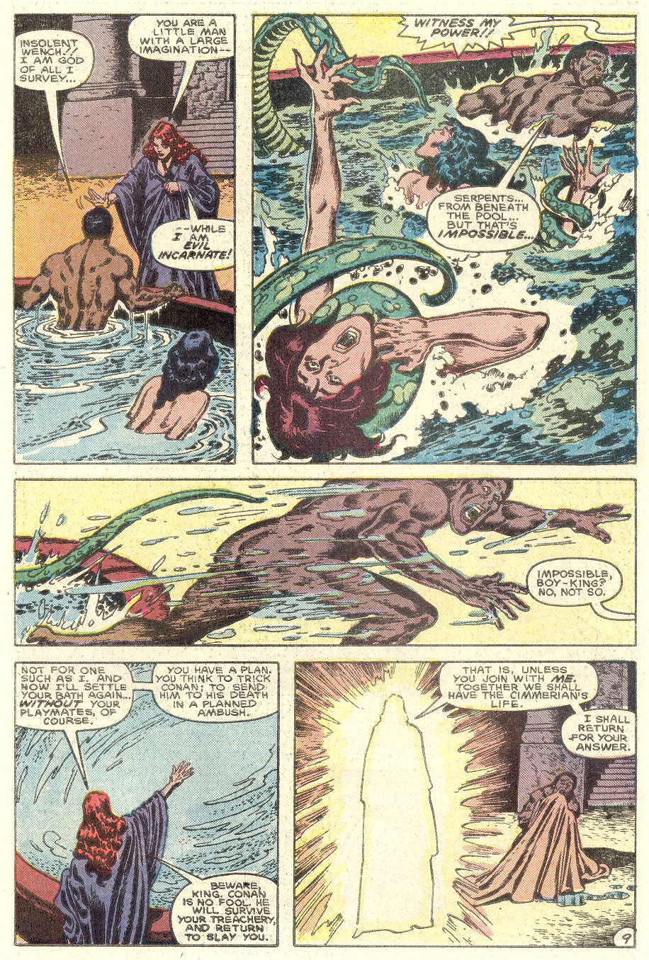 Conan the Barbarian (1970) Issue #182 #194 - English 10