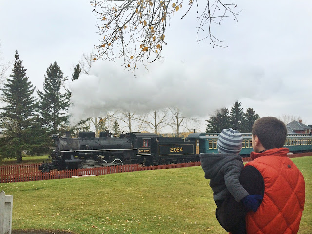 Heritage Park Train Ride