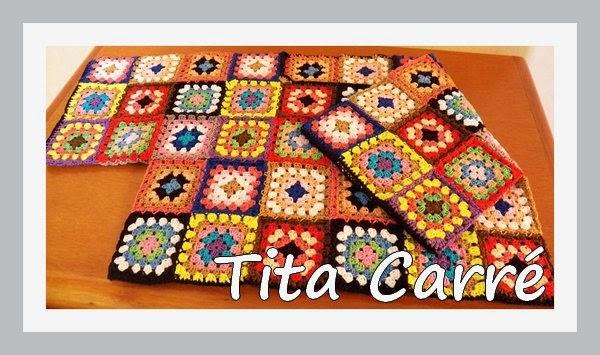 A Blusa Cropped de Squares da Vanessa da Mata versão da Tita Carré