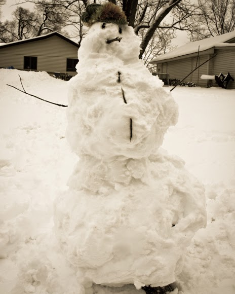 What does it mean to have snowmen in the attic? Essay question for college.?