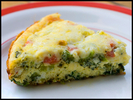 Natural Weight Loss Show: Vegetable Frittata