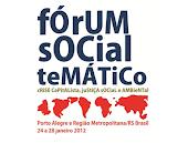 Fórum Social Temático - 2012