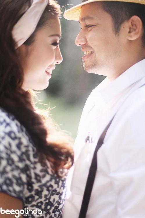 Beego Dan Linda Hashim Kongsi Gambar Pra Perkahwinan