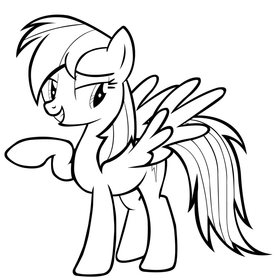 My Little My Little Pony Coloring Pages