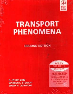 Transport Phenomena by Bird
