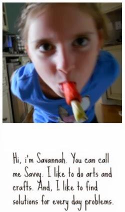 Hi, I'm Savannah