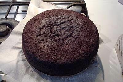 Torta Guinness al cioccolato 8