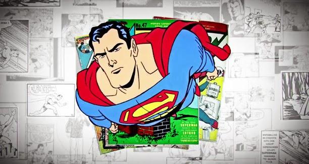 Corto Animado del 75 aniversario de Superman