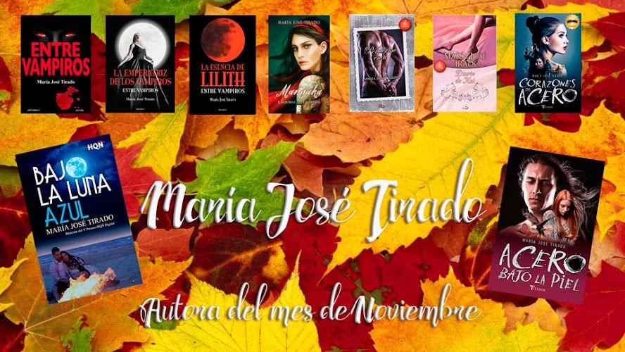 Autora del mes: María José Tirado