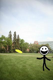 Frisbee in QUAD
