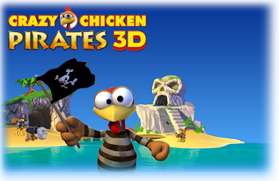 Download Crazy Chicken Pirates 3D game With Setup