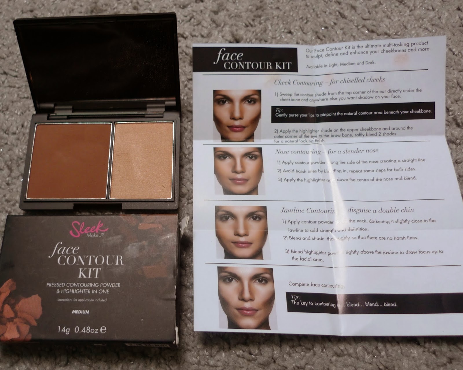 Sleek Contour kit in medium for that chiselled Kim Kardashian look