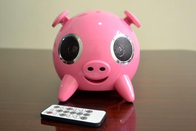 PIG CAIXA DE SOM - U$ 50,00