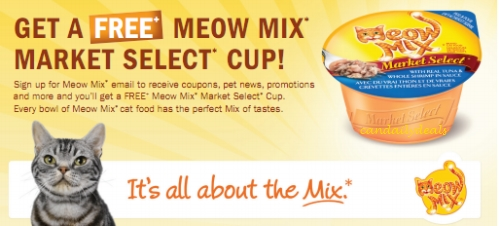photograph about Meow Mix Coupon Printable identify Canadian Each day Bargains: Canadian Discount coupons: No cost Meow Blend Current market