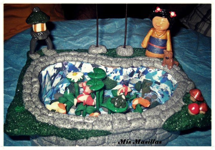Estanque japon s mis masillas for Estanque japones