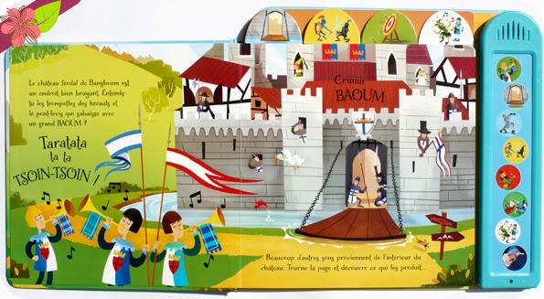 Le château fort - éditions Usborne