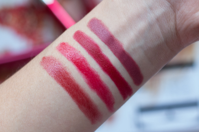 revlon colorburst lacquer and matte balms review