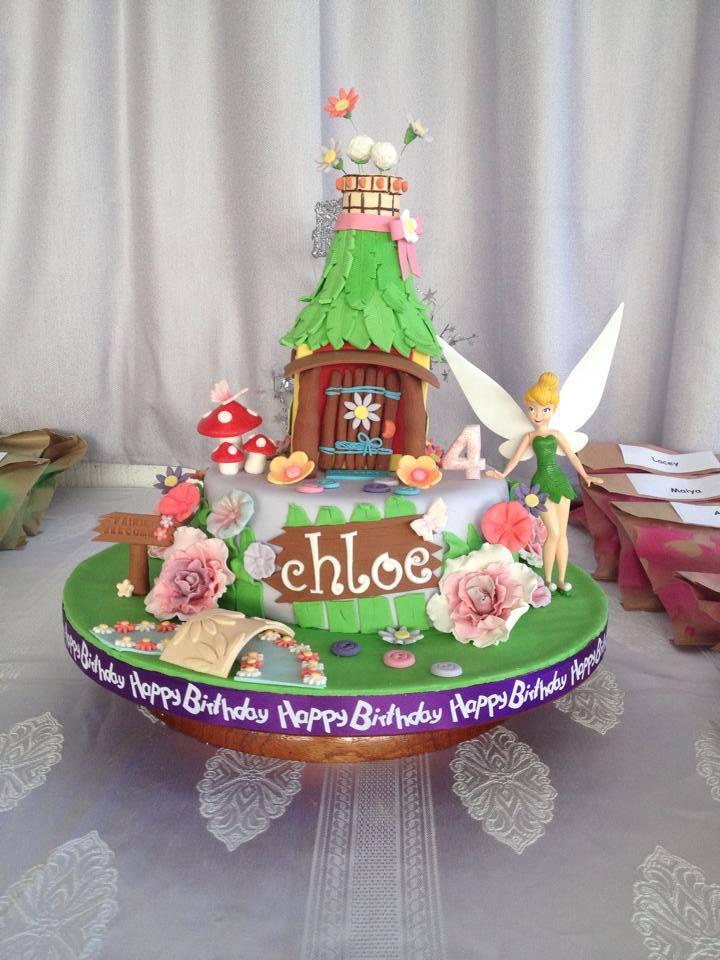 Tinkerbell Cake By Christina Malfitana