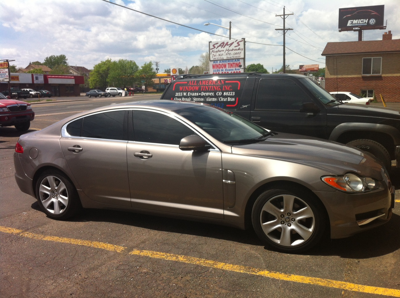 All american window tint window tinting in denver see for Window tinting