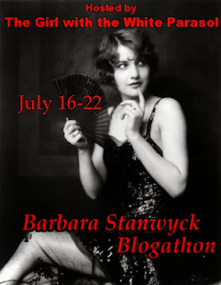 Aubyn is hosting a Barbara Stanwyck Blogathon in July!
