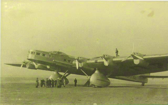 Pesawat Terbesar ke-9 Tupelov ANT-20