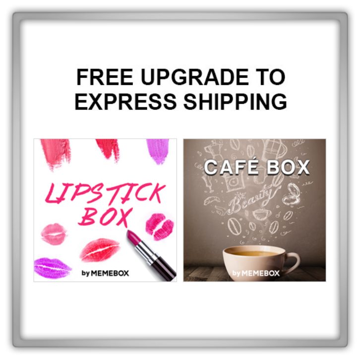memebox Special #39 Cafe Box Superbox #58 Lipstick Box 미미박스 Commercial