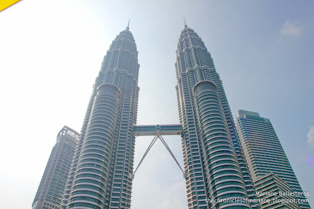 Petronas Twin Towers day