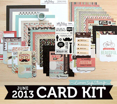 The Daily Marker Simon Says Stamps June Card Kit Giveaway