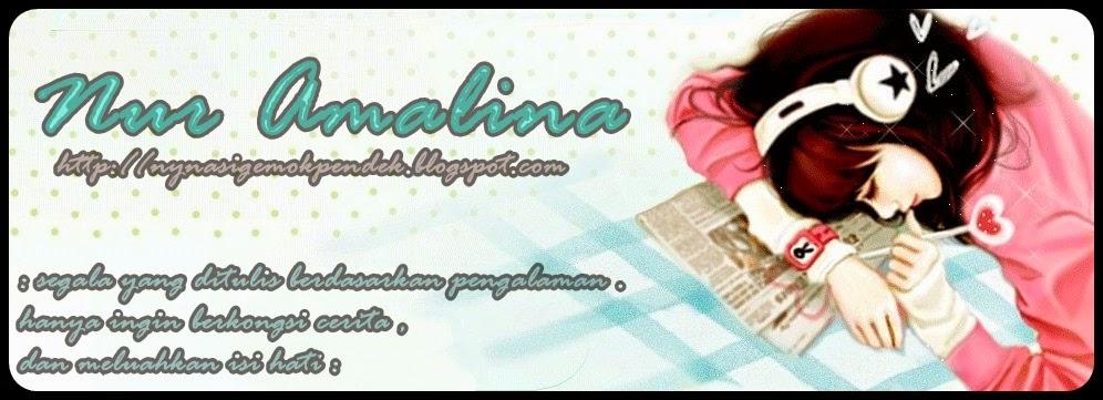:) NUR AMALINA KAMARUZAMAN (: