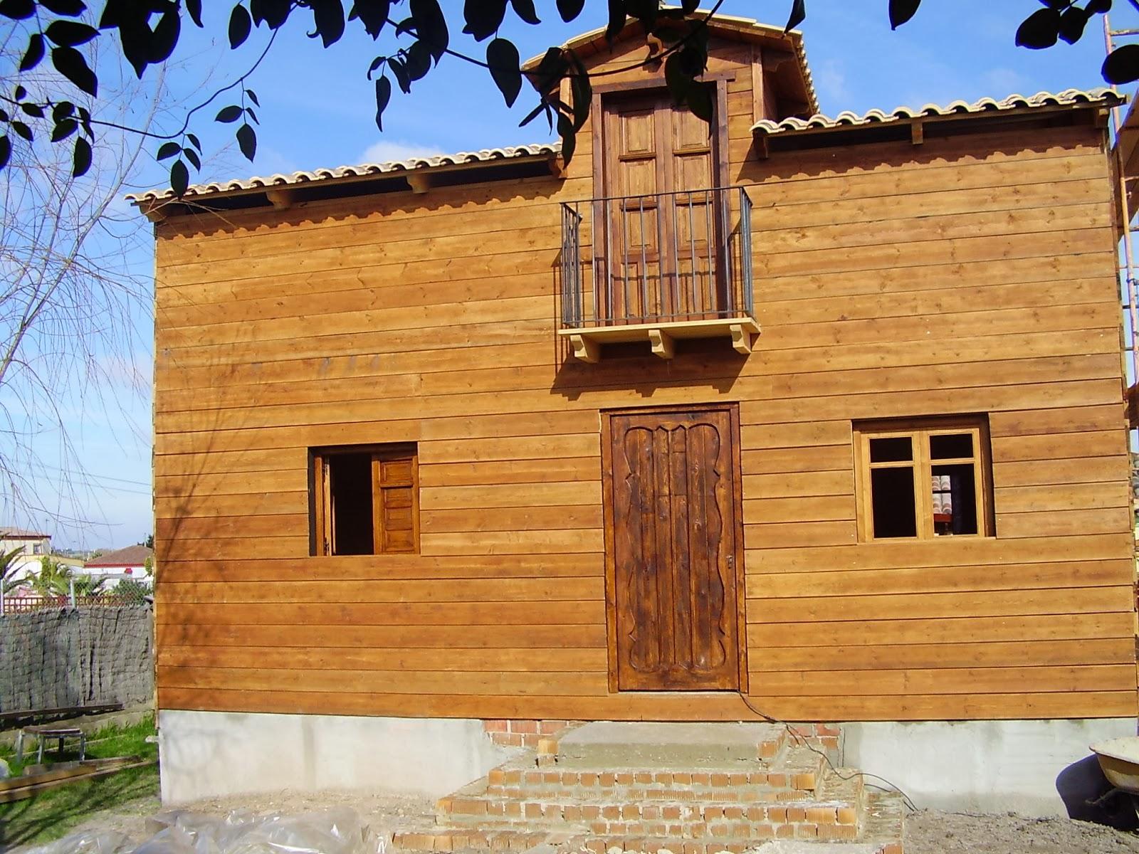 Madera artesana productos elaborados artesanalmente - Casas de madera maciza ...