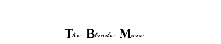 The Blonde Muse