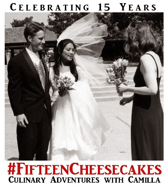 #fifteencheesecakes Celebrating 15 years of marriage!