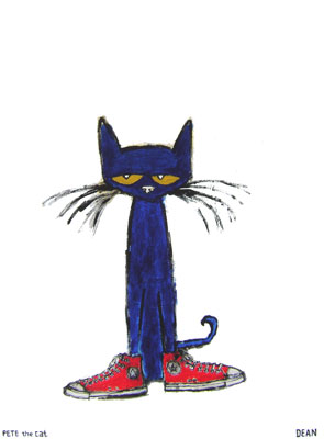 Meet Pete the CatPete The Cat I Love My White Shoes