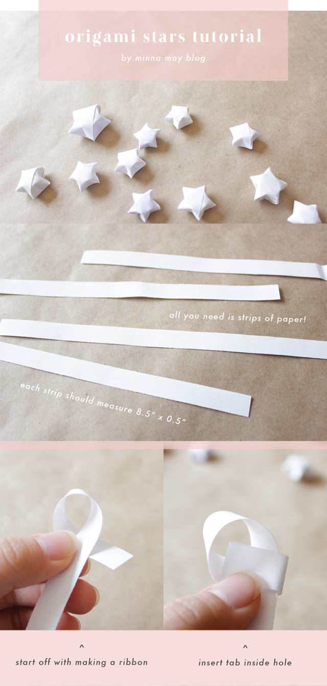 We fold paper an origami a day origami lucky stars for How to make lucky paper stars