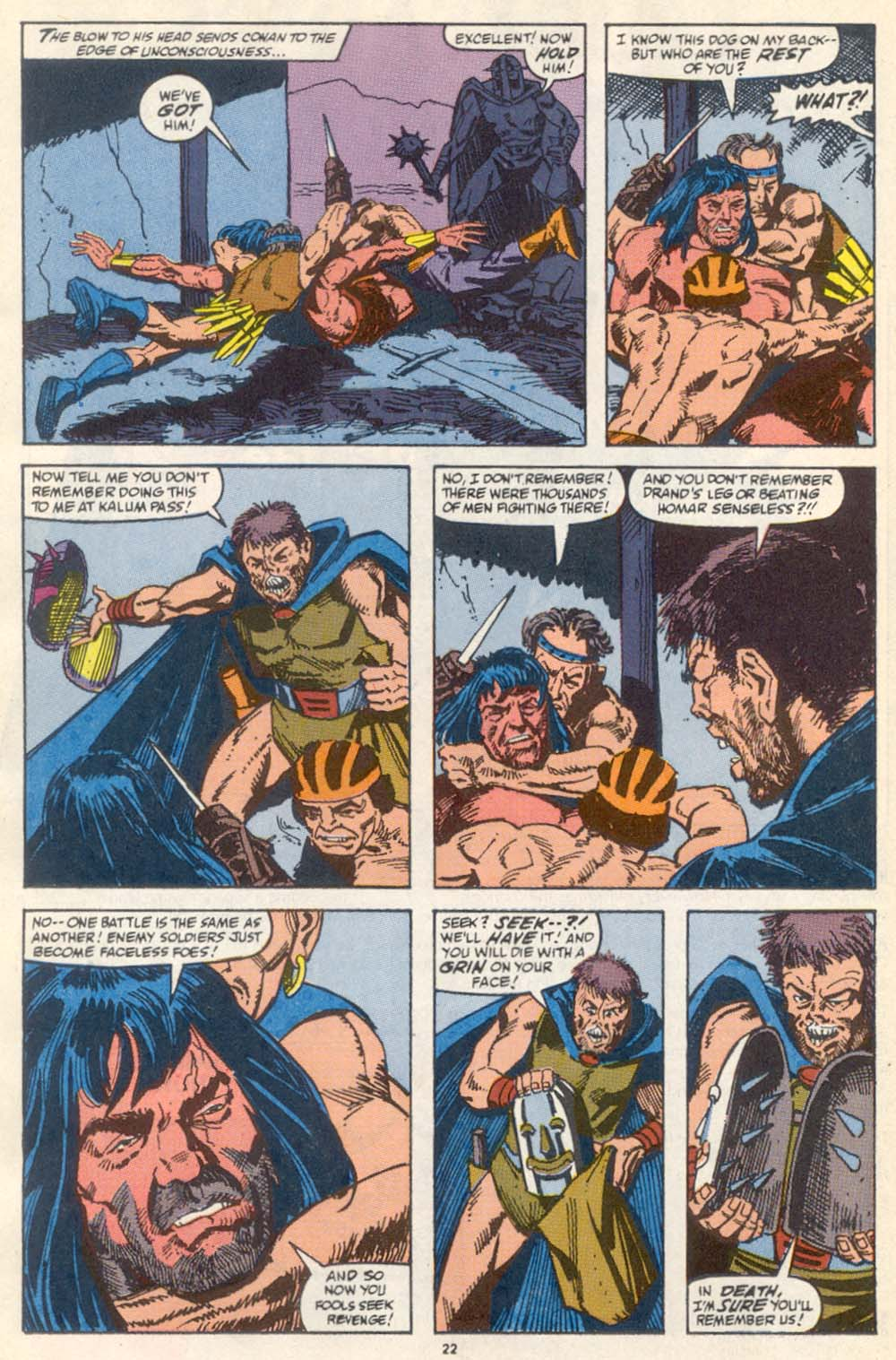 Conan the Barbarian (1970) Issue #222 #234 - English 18