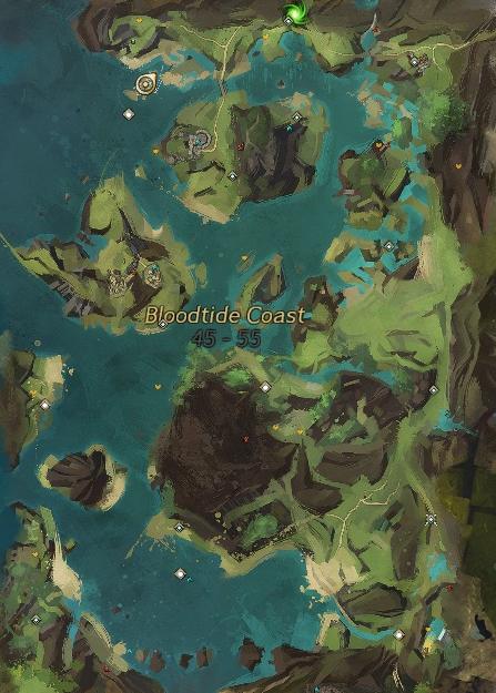 Exploring Tyria: Exploring Bloodtide Coast