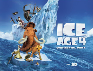 Cartel de la película Ice Age 4: la formación de los continentes