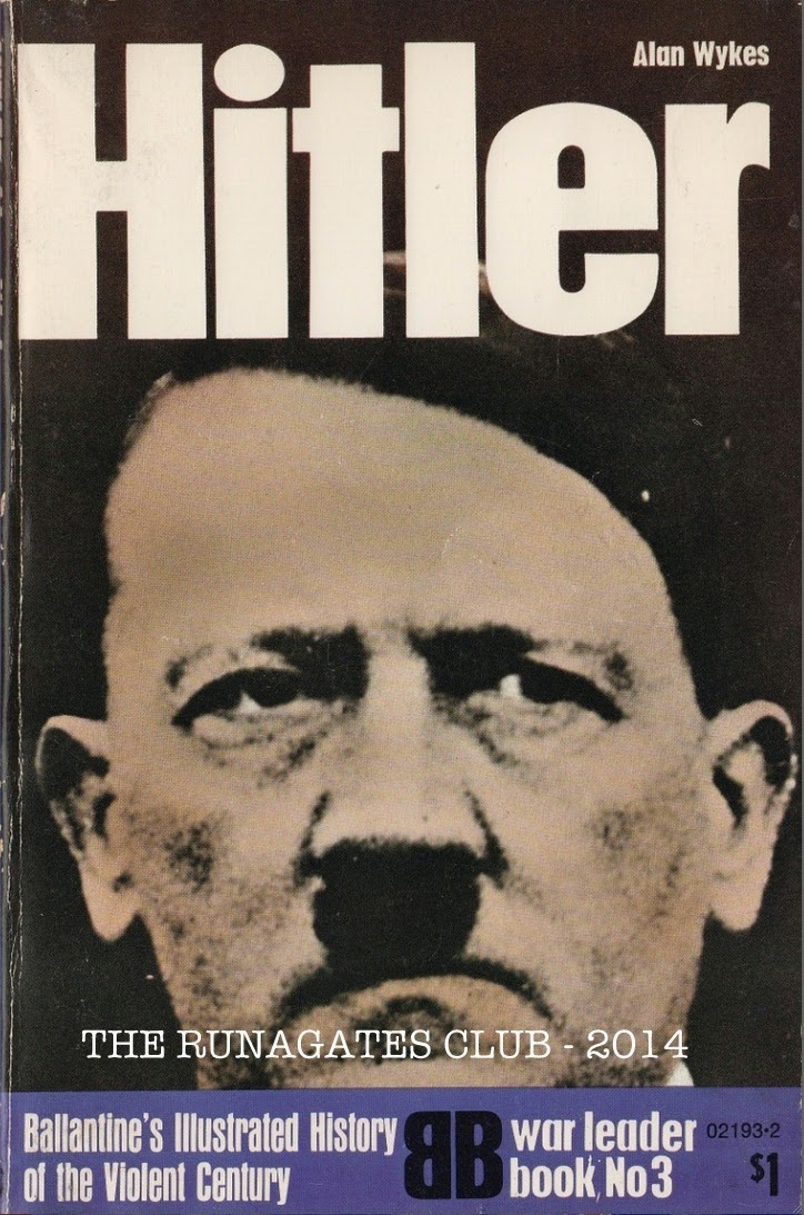HITLER, author  Alan Wykes, Ballantine;s, New York, 1971