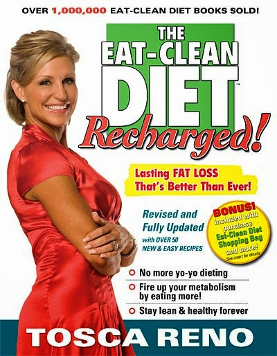 The Eat Clean Diet, Tosca Reno, www.HealthyFitFocused.com