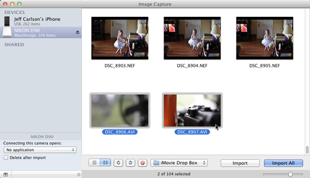 how to add an image into an imovie video