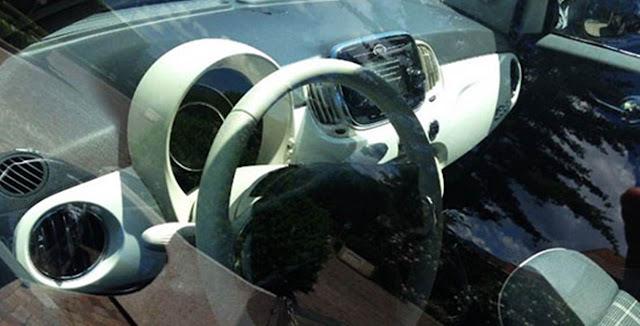 Novo Fiat 500 2016 - interior