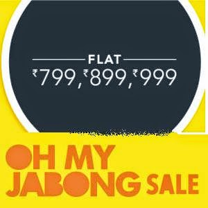 Buy Clothing, Footwear and Jewellery at Rs. 799, Rs. 899 or Rs. 999 on Jabong