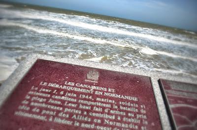 d day - jour j - 6 juin 1944 - plages du débarquement - normandie - France - Crédit photo : Agathe LaTuque