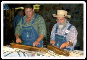 The Dulcimer Guys at Tunes & Tales in Gatlinburg, TN
