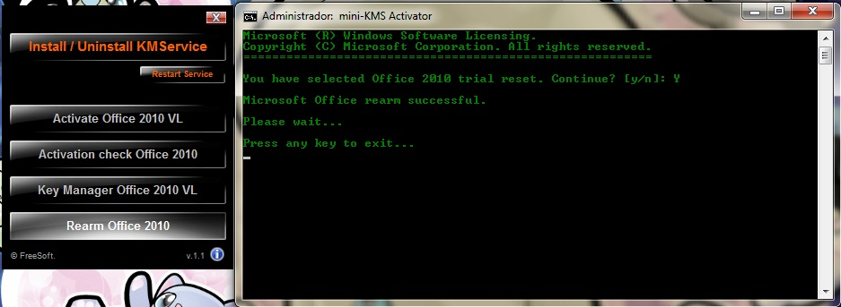 Activador office 2010 mini kms v1 1 totalmente funcional - Mini kms activator office 2010 download ...
