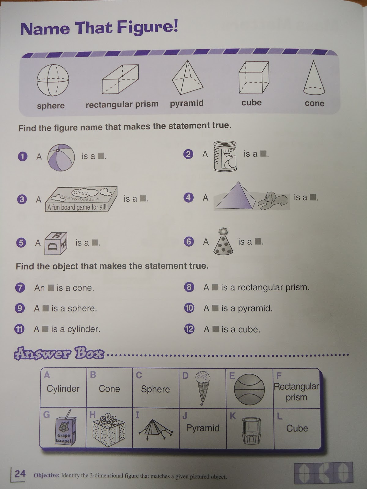 Geometry VersaTiles – Versatiles Worksheets