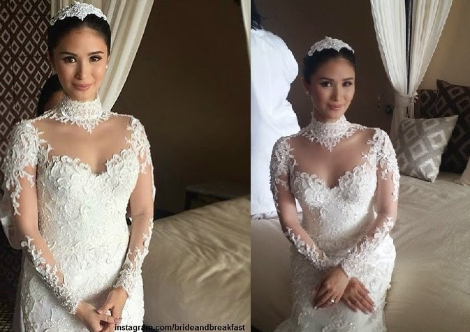Heart Evangelista wedding gown