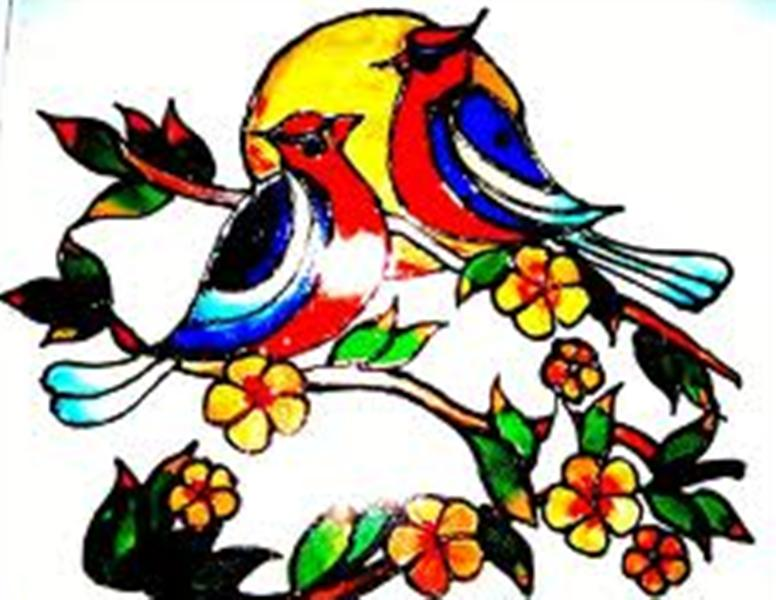 Painting Designs Brilliant Of Glass Painting Designs Pictures