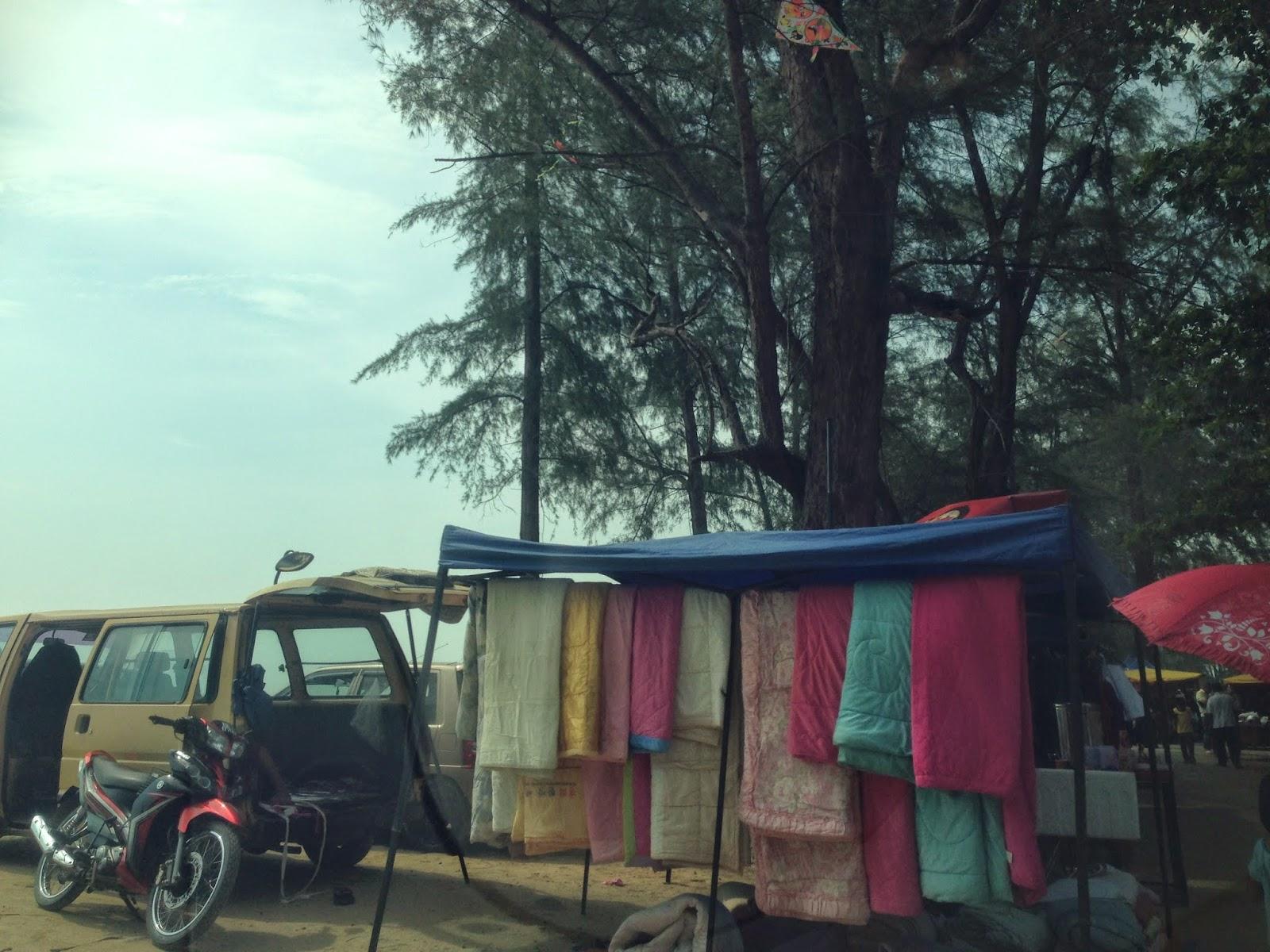 Pantai Irama vendors
